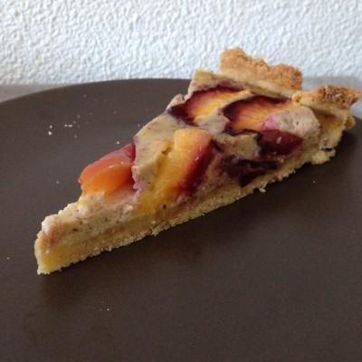 tarte amande nectarine