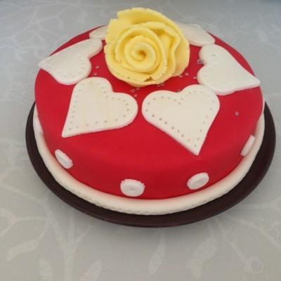 gâteau damier chocolat amande