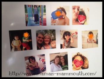 mes photos le frigo avec imprify