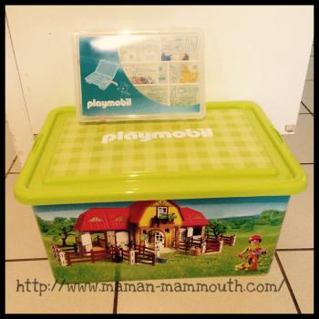 Des boîtes pour ranger ses playmobil