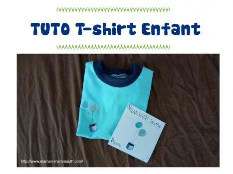 tuto t shirt pour enfant transfert textile couture blog pro allaitement maternel et maternage. Black Bedroom Furniture Sets. Home Design Ideas