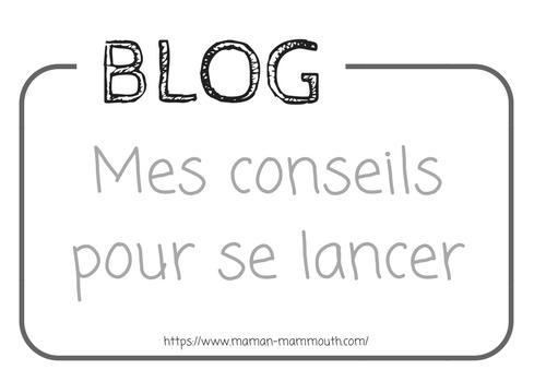 Mes conseils pour ouvrir un blog