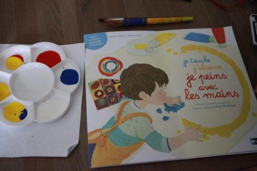 Peinture inspiration Montessori