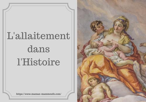 L'allaitement dans l'Histoire