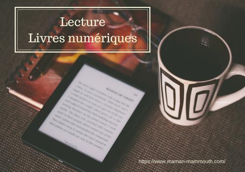 Lecture livres numériques ebooks