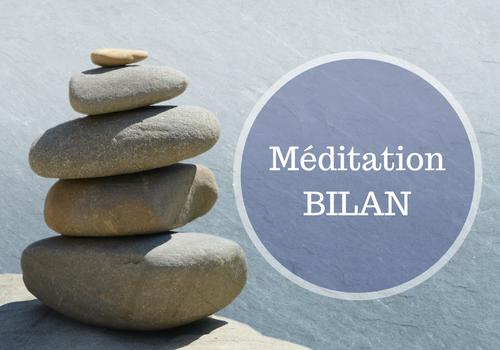 Bilan méditation en ligne