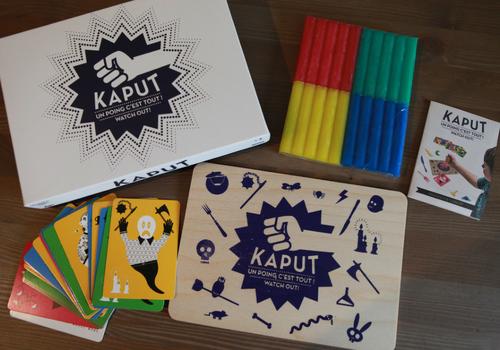 Kaput, jeu éthique fabriqué en France par Les Jeux Libres