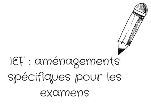 Aménagements spécifiques pour les examens, comment ça marche ?