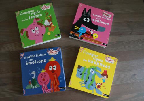 "Collection ""Ouistiti fait rire les petits"" Nathan"