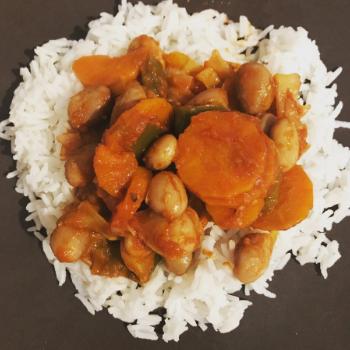Recette du Chakalaka, plat végétarien