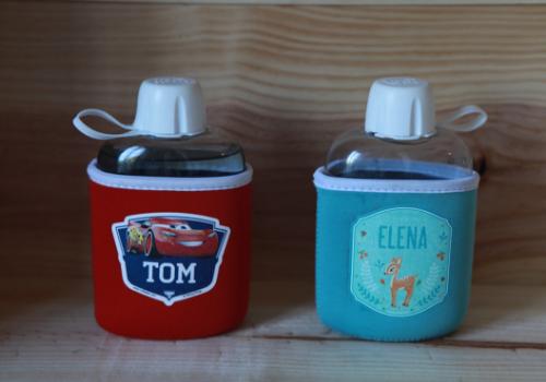 Gourde isotherme sans BPA Ludilabel
