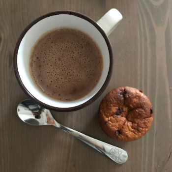 Muffins à la butternut et chocolat