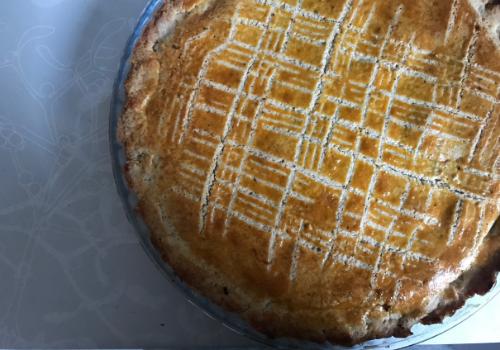Gâteau Basque sans plv