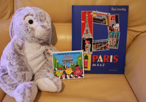 Sélection d'albums jeunesse sur Paris