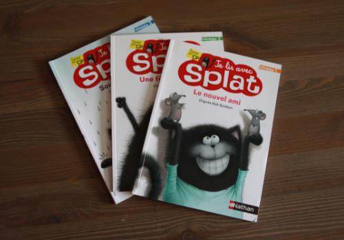 """Collection de premières lecture """"Je lis avec Splat"""""""