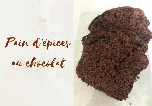 Recette de pain d'épices au chocolat