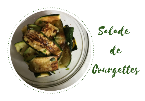 Recette de salade de courgettes