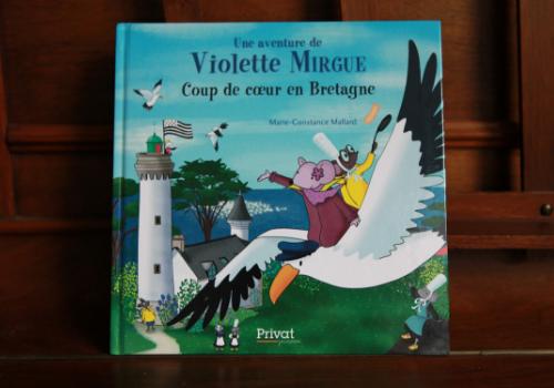 Violette Mirgue en Bretagne