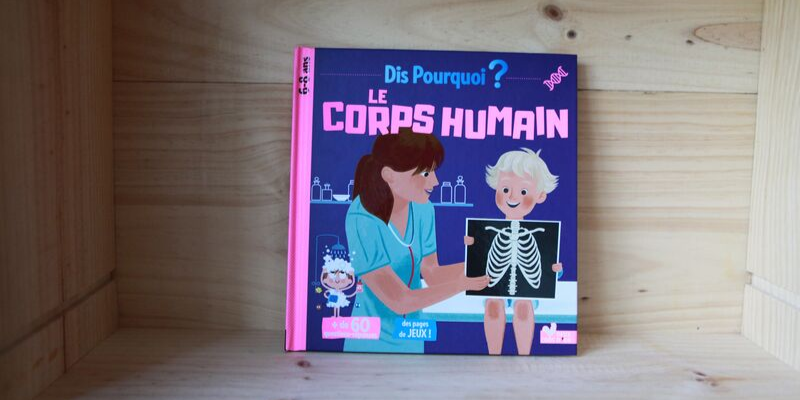 Album documentaire sur le corps humain