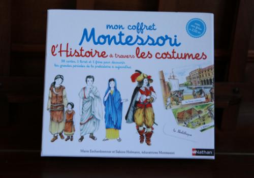 coffret Montessori sur l'Histoire