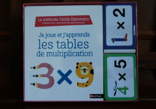 Coffret pour apprendre les multiplications en s'amusant