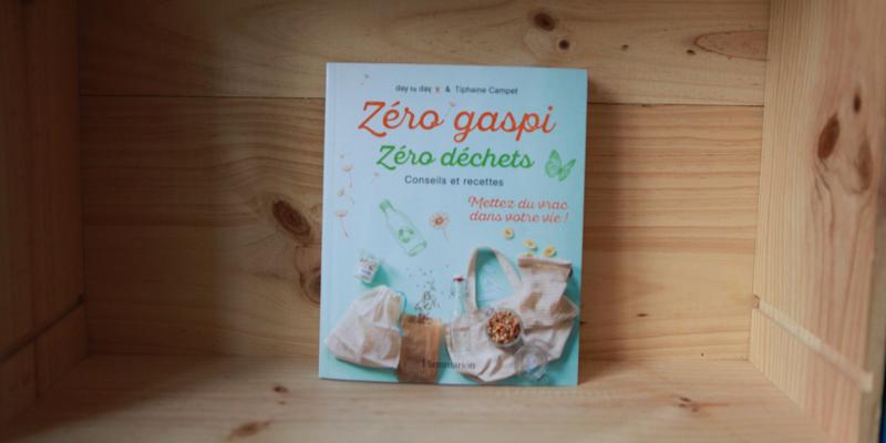 """Livre """"Zéro déchet zéro gaspi"""""""