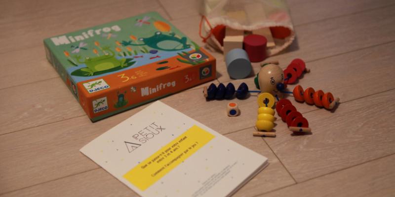Box de location de jeux Petit Sioux
