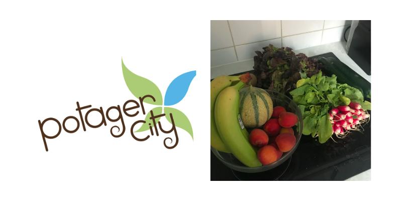 Potager City, box de fruits et légumes frais et français
