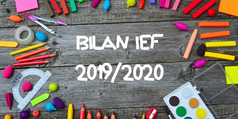 Bilan IEF 2019/2020
