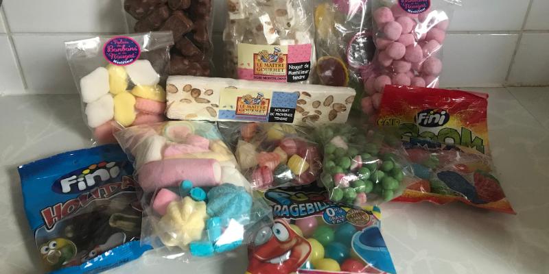 Bonbons Douceurs du Palais