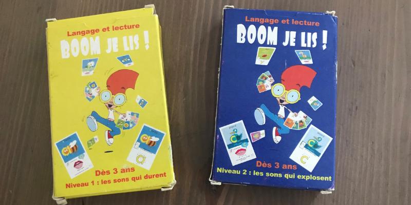 Méthode de lecture Boom je lis