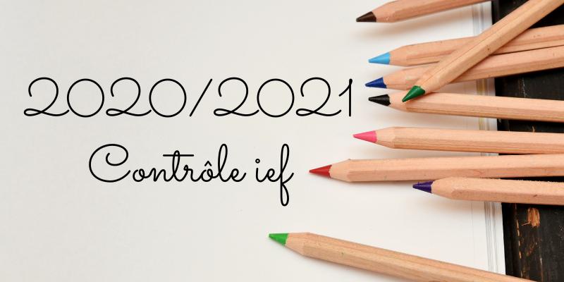 Contrôle IEF 2020/2021